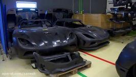 Carbon Fiber Construction  Inside Koenigsegg