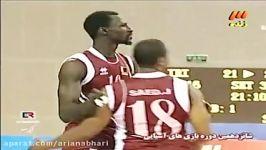 955 Iran vs Qatar Volleyball 2010 China Guangzhou XVI Asiad والیبال ایران قطر