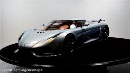 ماکت ماشین Koenigsegg Regera ساخت شرکت Avan Style