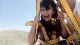 زیپ لاین رویای پرواز مشگین شهر استان اردبیل تجربه پرواز امن لذت پرواز تفریح و