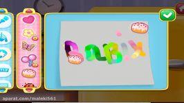 یادگیری رنگ، یادگیری اعداد، یادگیری الفبای ► Fun Kids B