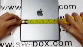 ویدئویی جالب مقایسه پنل پشتی آیپد 5 آیپد 4 آیپد مینی