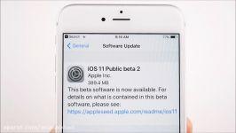 iPhone 6S Plus iOS 11  Public Beta 2 Review