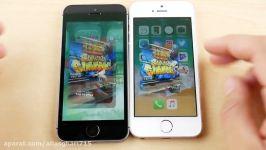 iPhone SE iOS 10.3.3 vs iPhone SE iOS 11 Public Beta 2