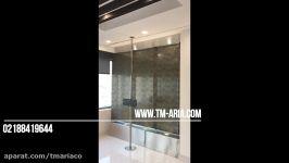 ساخت آبنمای شیشه ای مدرن شیشه ای آبنمای شیشه ای مدرن
