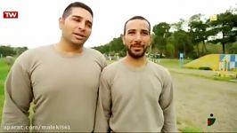 IRAN TV   خندوانه   گزارش سربازی رفتن .خدمت سربازی