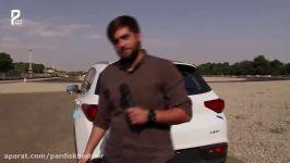 گزارش ویدئویی تست رانندگی تیگو 7 برخورد نزدیک تیگو 7