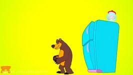 ماشا والدب ماشا تخطف الدبة الصغیرة وغضب سبایدرمان افلام كرتون للاطفال  YouTube