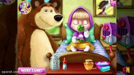 كرتون ماشا والدب Masha and the Bear  ماشا تصنع الطعام ومغامرات جدیده افلام كرتون للاطفال