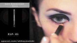 آرایش خلیجیارایش خلیجی عروس آموزش آرایش عربی 1394 آرایش چشم دودی