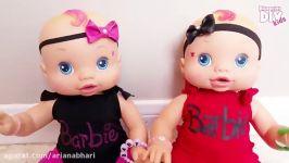 دوست کودک  لباس عروسک  آموزش دوختنی
