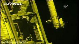 فضانوردان آمریکایی روس سایوز به ایستگاه فضایی بینالمللی رسیدند