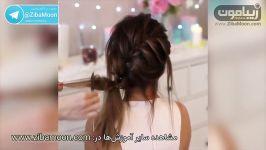 آموزش 4 مدل مدل مو دخترانه شیک برای مهمانی عروسی