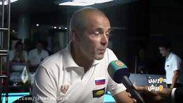 گزارش دیدار دوستانه تیم ملی بیلیارد ایران روسیه