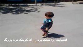 ایمان وقتی ایران بود فقط می گفت برم بیرون راه برم