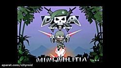 تریلر بازی Doodle Army 2 Mini Militia برای اندروید