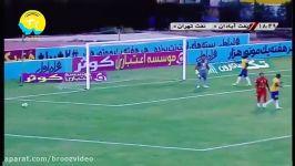 بدون علی کریمی خلاصه بازی صنعت نفت آبادان 1  نفت تهران 0