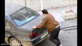 دیگر به خانم های باردار رحم نکنید دزدی ماشین کمک زن باردار