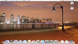 تدریس مک Mac درس 39 اشتراک گذاری میزکار Screen sharing