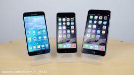 iPhone 6 vs Samsung Galaxy S5 vs iPhone 6 Plus  Benchmark Speed Test