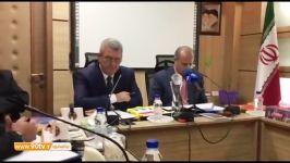 اختصاصی کنفرانس خبری کامل مهدی تاج رئیس فدراسیون فوتبال آلبانی