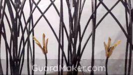 حفاظ  نرده  حفاظ روی دیوار