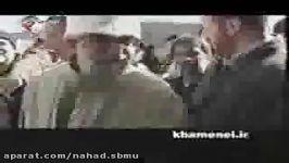بازدید مقام معظم رهبری مناطق زلزله زده کرمان
