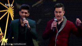 آهنگ گروهی ستاره ها  ستاره افغان  مرحله ۱۲ بهترین Stars Group Song  Setar e