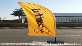 پرچم ساحلی  پرچم تبلیغاتی  BeachFlag  پرچم بادبانی
