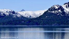 مناظر چشم نواز کوههای برفی + موزیک آرامش بخش  2ساعت