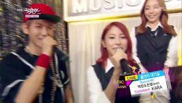 exo mc with kara kbs