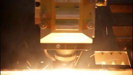 نمونه برش ورقهای1 5 6 10میلی مترSS لیزر فایبر پنتا