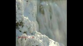 نمای کم سابقه یخ زدن آبشار نیاگارا