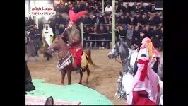 گفتگو مبارز شمر ابن سعد مجلس علی اکبر