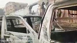 کلیپی حمله انتحاری امروز در ننگرهار