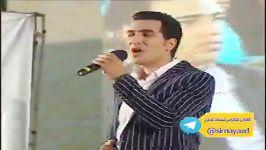 اجرای آهنگ خلیج فارس در روز ملی خلیج فارس توسط خواننده علی صفوی زاده شبکه تابان