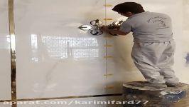 نصب کاشی اسلب همتراز کاشی مهاربند کاشی 09123091170