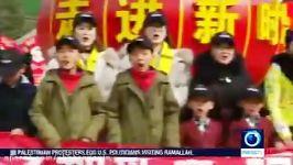 اجتماع دوقلوها برای مراسم سال نو  چین