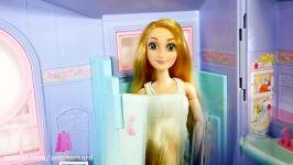 باربی Rapunzel Talking House باربی صبحانه باربی