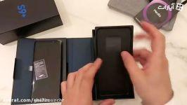 اولین جعبه گشایی Galaxy S9 Plus توسط شهروز چُرکچی