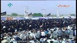 بیانات رهبر معظم انقلاب در جمع زائران مناطق عملیاتی